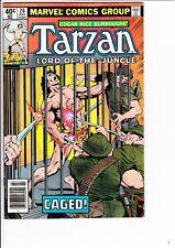 TARZAN #26 (Marvel, 1979):  Buckler cvr / Stan Lee, Jack Kirby apps  --  VG/FN