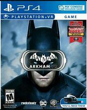 PS4 Batman Arkham VR Virtual Reality NEW SEaled Region Free USA Game