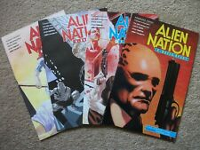 ALIEN NATION: A BREED APART '#s 1 to 4 (Adventure Comics Mini Series, 1990) VF