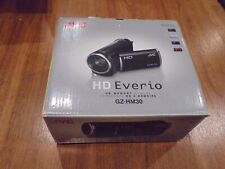 New in Open Box - JVC Everio GZ-HM30 GZ-HM30BU HD Camcorder - RED - 046838045363