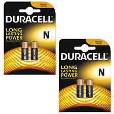 2X Confezione da 2 DURACELL MN9100 N 1.5 V batteria alcalina LR1 E90 KN