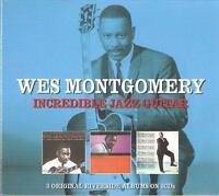 WES MONTGOMERY INCREDIBLE JAZZ GUITAR - 3 CD BOX SET