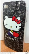 COQUE RIGIDE  Iphone 4 Hello Kitty  Noir  IPHONE 4/4S  NEUF