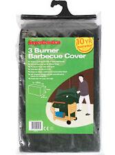 Garden 3 BRUCIATORI BARBECUE BBQ coperchio/protezione 130 CM x 74 CM x 61cm Rettangolo