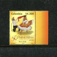 Colombia 1337 MNH Bambuco folklore festival 2010 x16951