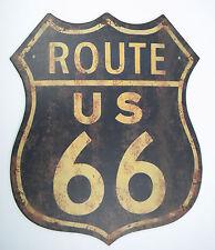 Metal Sign XXL route 66 Garage Party Basement USA Harley Davidson Decoration Rod