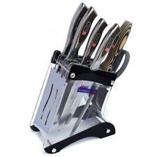 Kitchen Knife Block Storage Holder Rack Organizer Knives Stand Accessories Tools