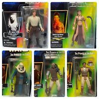 (Loose, 100% Comp.) '96-'97 Kenner The Power of the Force Star Wars 5 Figure Lot