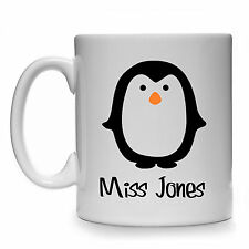 PERSONALISED PENGUIN MUG CUP GIFT PRESENT IDEA PENGUINS LOVER SPHENISCIDAE