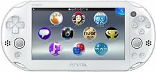 USED PS Playstation vita Wi-Fi model WHITE PCH-2000 ZA12 only console JAPAN