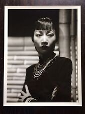 Anna May Wong Original Vintage Hollywood American Chinese Photograph 14x11 Rare