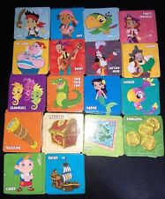 Game Parts Pieces Jake and the Neverland Pirates Matching 69 Picture Tiles