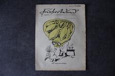 alte Zeitschrift Nr. 24 Frischer Wind 2.Jahrgang 1. April 1947