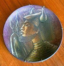 Vintage Swedish Mid Century Sven Torngren Falkenberg Viking Warrior Pottery