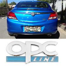 A Sliver OPC Car Emblem Badge Sticker Decal 3D Design For Opel Astra Zafira WE1