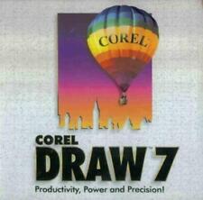 corelDraw 7 PC CD desktop publishing image editing drawing illustration program!