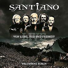 Von Liebe,Tod und Freiheit-Live von Santiano | CD | Zustand sehr gut