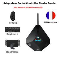 1* Adaptateur jeu Controller clavier souris pour NS Switch PS4 PS3 Xbox One/360