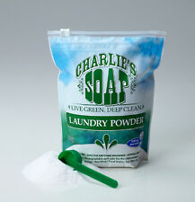 Charlie's Soap Laundry Powder 100 Washloads Hypoallergenic FREE SHIPPING