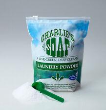 Charlie's Soap Laundry Powder 100 Washloads Hypoallergenic FREE SHIPPING