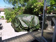 Camo Tarp Tent Storage Tent Strong & Large with Built in Floor 6.5 x 3.5 Metres