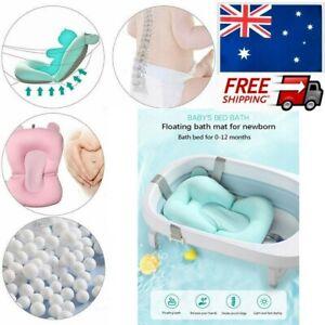 Baby Bath Pad Mat Pillow Non-Slip Shower Cushion Bathtub Floating Soft Newborn