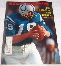 Sports Illustrated Magazine July 10, 1972 Johnny Unitas