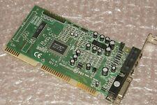 ISA Soundkarte mit Wavetable - Avance Logic ALS100 Plus - Pro16/32PnP/Midi
