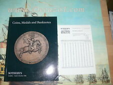Sotheby's London. 1996-10.RUSSIAN COINS FUCHS COLLECTION II. Coins Medals Bankno