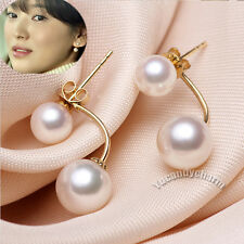 Made in Korea TV That Winter The Wind Blows Song Hye Kyo Dual Pearls Earring SET