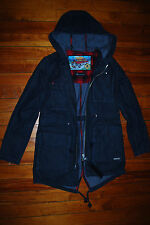 NEW Women's Moose Knuckles Day Denim Jacket Parka (Small) $395