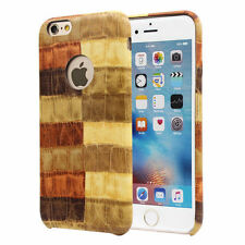 Patterned Synthetic Leather Fitted Cases for iPhone 6s