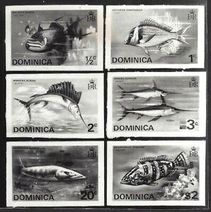 Grenada #421-26 Fish composite photographic proof