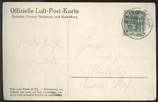 DR 1912 85I FLUGPOST MANNHEIM HEIDELBERG(A5470