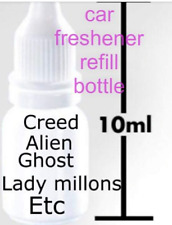 Designer Perfume Fragrance Car Air Freshener refill bottle creed , Angel, Gucci