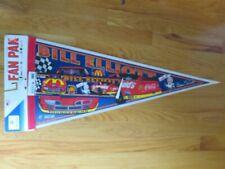 "BILL ELLIOTT No. 94 McDONALD's Racing Team 30"" Pennant w/ Decal SNAP-ON"