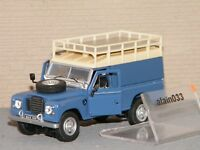 LAND ROVER DEFENDER 109 SERIE III TOLEE BLEUE CARARAMA 1/43 - 251XND12