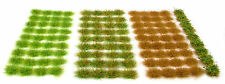 Grass set #1 - Tufts x117 sheet - Self adhesive static model railway scenery