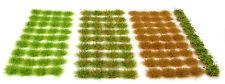 X117 Sheet Self Adhesive Static Grass Tufts - Model Scenery Flock Diorama Grass Set 1