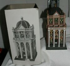 """Christmas In The City """"First Metropolitan Bank"""" by Dept 56-Heritage Village Coll"""