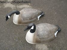 "Flambeau ""Storm Front"" goose decoys, 24"" Canada shells, two styles available"