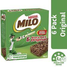 Nestle Milo Snack Bars Original 6 Pack 126g