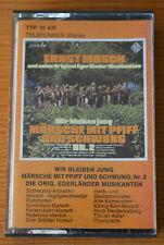 Musikkassette ERNST MOSCH Wir bleiben jung 2 Märsche mit Pfiff (Telefunken) MC