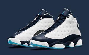 "Nike Air Jordan 13 Retro ""Obsidian Powder Blue"" 414571-144 Size 10.5 DS 🔥✅"