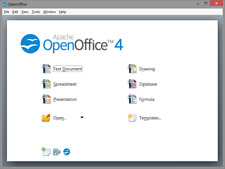 Open Office Suite 2018 Professional for MS Windows and Mac Home and Student USB