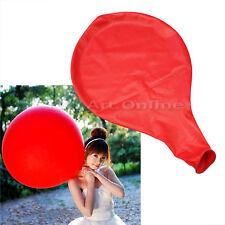 36 pouce rouge ballon grand taille décoration anniversaire mariage fête baptême