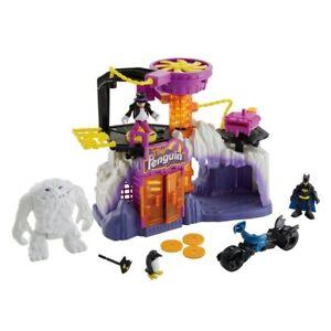 Imaginext DC Super Friends Legends of Batman the Penguin Lair kids children toy
