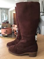 Glastonbury Travelers Leather Boots, Sheepskin Lined, Size 9 1/2 (3057 SS) 72069