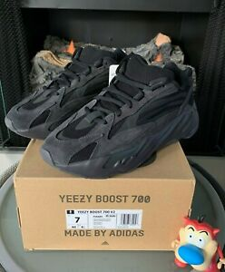 Adidas Yeezy Boost 700 V2 Vanta Black 2019 FU6684 4-13 New DS Kanye Off White