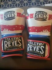 Cleto Reyes Hook and Loop Leather Training Boxing Gloves 14Oz